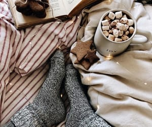 winter, Cookies, and cozy image