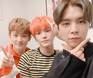 johnny, taeyong, and mark image