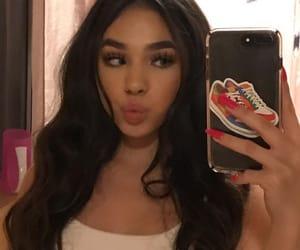 icon, girl, and makeup image