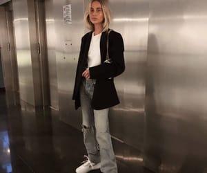 blonde, designer, and fashion image