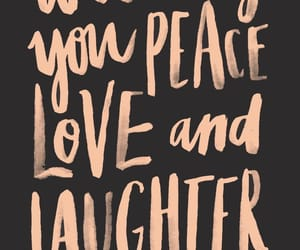 new year, quotes, and peace image
