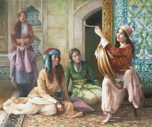 harem, osmanli, and cariyeler image