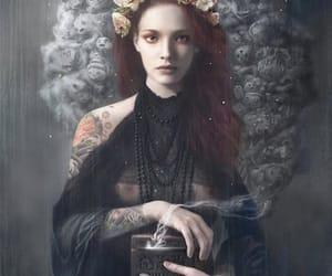 black, fantasy, and girl image