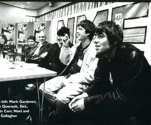 liam gallagher, mark gardener, and steve querault image