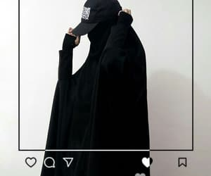 aesthetic, allah, and black image