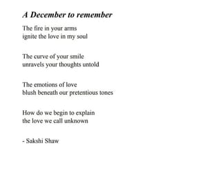 december, poems, and quotes image
