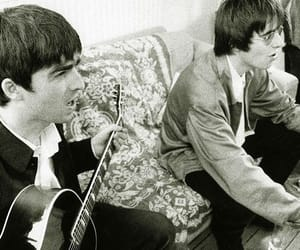 definitely maybe, gallagher brothers, and liam gallagher image