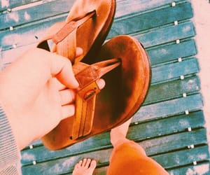 aesthetic, shoes, and beach image
