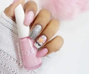 beauty, glitter, and nail art image