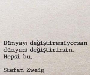 alıntı, türkçe sözler, and stefan gweig image