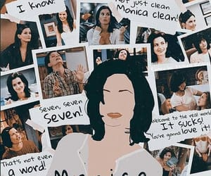 monica geller, friends, and monica image