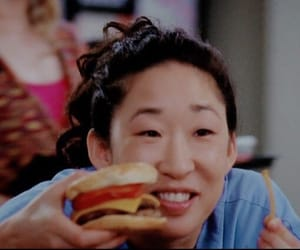 cristina yang, food, and greys anatomy image