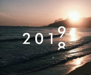 2019, new year, and 2018 image