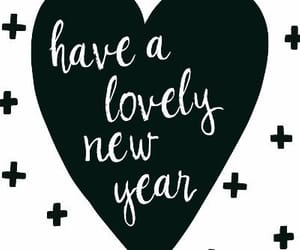 lovely, new year, and wishes image