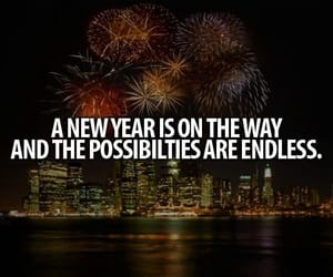endless, possibilities, and new year image