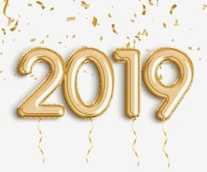 2019 and new year image
