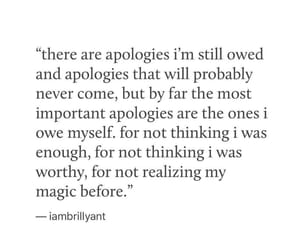 apology, new year, and quotes image