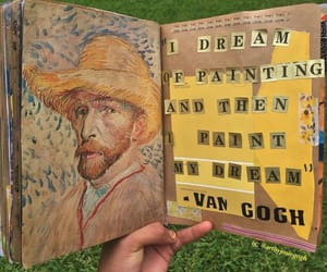 art, van gogh, and yellow image