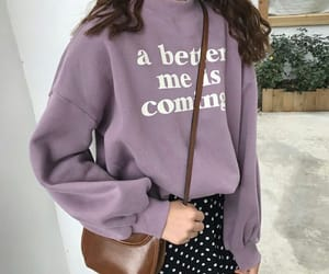 aesthetic, fashion, and purple image