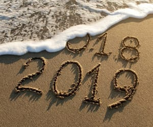 happy, new year, and 2019 image