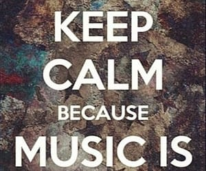 keep calm and words image