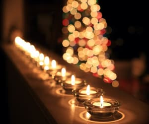 candles, new year, and winter image