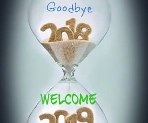 2019, new year, and goodbye image