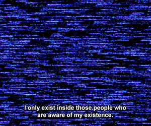 emotions, glitch, and Existence image