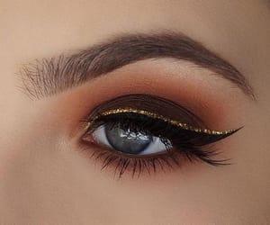 eyeshadow, look, and makeup image