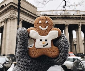 winter, christmas, and cookie image