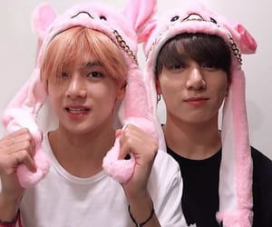jungkook, vkook, and taekook image