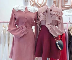 asian fashion, dress, and korean fashion image