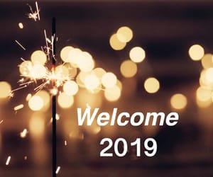 hello, lights, and 2019 image