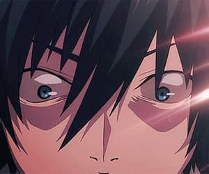 anime, gif, and blue exorcist image