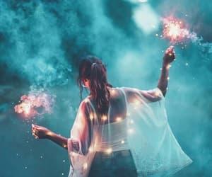 light, girl, and photography image