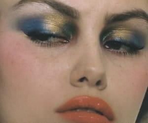 closeup, face, and fashion image
