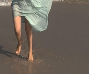 beach, aesthetic, and dress image