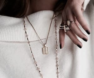 fashion, jewelry, and girl image