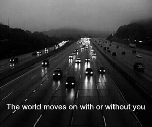 quotes, world, and sad image