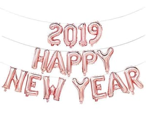 new year, 2019, and happy new year image