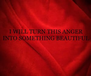 anger, burgundy, and text image