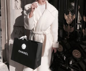 chanel, fashion, and coat image
