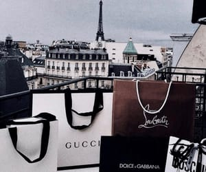 gucci, Kenzo, and shopping image