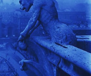 blue, notre dame, and old photography image