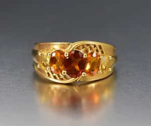 citrine, ring, and tank image