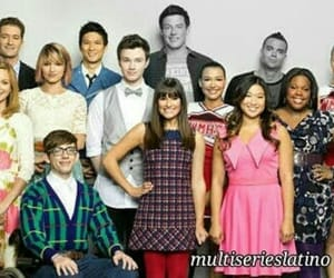 glee, glee cast, and cory monteith image