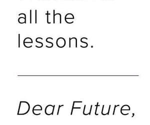 quotes, future, and lesson image