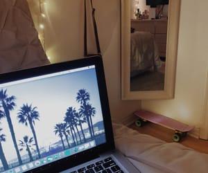 cali, california, and fairy lights image
