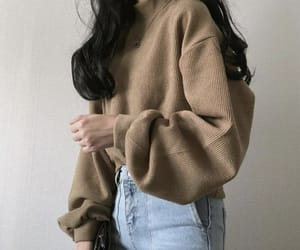 aesthetic, brown, and beige image