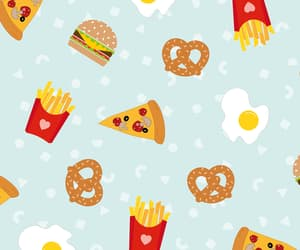 background, fast food, and food image